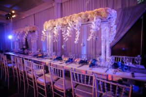 flowers centerpieces for jewish event